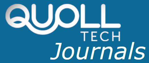 Quoll tech Journals